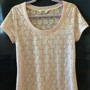 🔴 Lace-like t-shirt